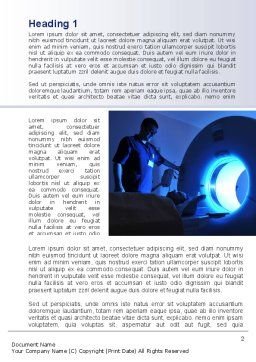MRI Machine Word Template First Inner Page