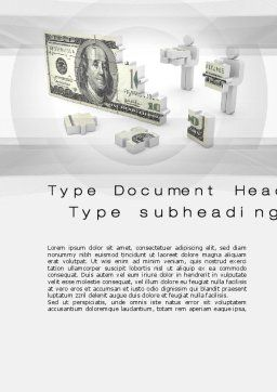 Capital Accumulation Word Template Cover Page