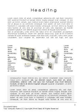 Capital Accumulation Word Template First Inner Page