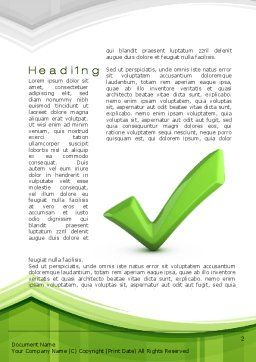 Check Mark Word Template First Inner Page