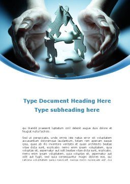Save the Dream Word Template, Cover Page, 10375, Business Concepts — PoweredTemplate.com