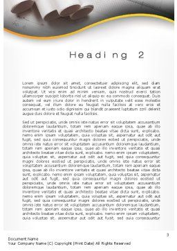 Design Documents Word Template Second Inner Page