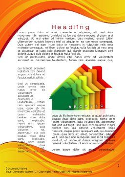 Energy Efficiency Word Template First Inner Page
