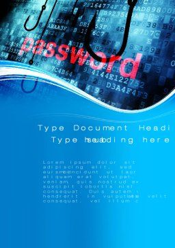 Phishing Word Template Cover Page