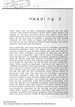 Construction Project Approvals Word Template, Second Inner Page, 10427, Careers/Industry — PoweredTemplate.com