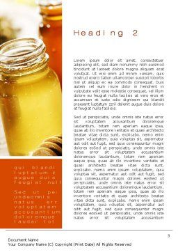 Honey Word Template Second Inner Page