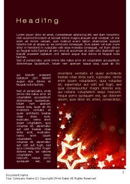 2013 Word Template, First Inner Page, 10450, Holiday/Special Occasion — PoweredTemplate.com