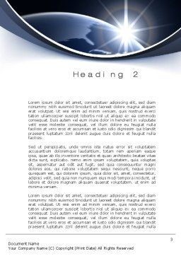 A New Day Word Template, Second Inner Page, 10484, Global — PoweredTemplate.com