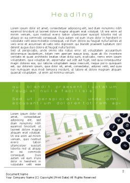 Report Generation Word Template, First Inner Page, 10546, Financial/Accounting — PoweredTemplate.com