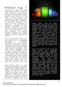 Tablet PCs Word Template, First Inner Page, 10618, Technology, Science & Computers — PoweredTemplate.com