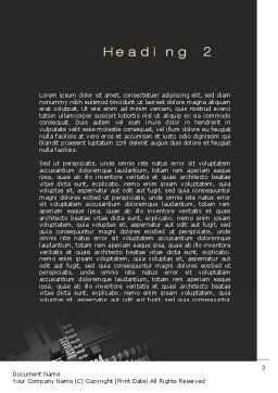 Market Target Word Template, Second Inner Page, 10697, Careers/Industry — PoweredTemplate.com