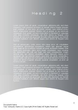 Virtual Love Word Template, Second Inner Page, 10702, Technology, Science & Computers — PoweredTemplate.com