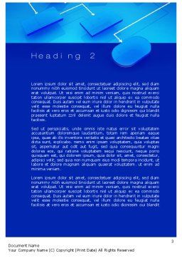 Flowchart Concept Word Template, Second Inner Page, 10729, Consulting — PoweredTemplate.com