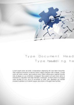 Human Resources Word Template, Cover Page, 10754, Business Concepts — PoweredTemplate.com