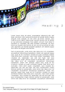 Streaming Media Word Template Second Inner Page