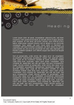 Pressure Washing Word Template, Second Inner Page, 10769, Careers/Industry — PoweredTemplate.com