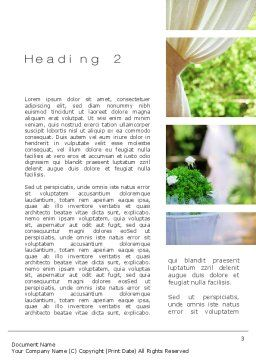 Catering Word Template Second Inner Page