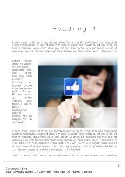 SMO Services Word Template, First Inner Page, 10797, Technology, Science & Computers — PoweredTemplate.com