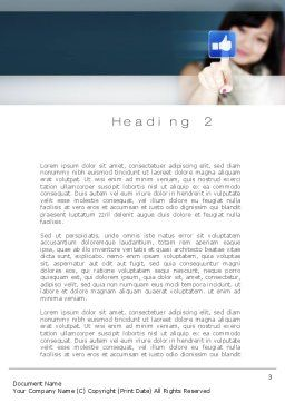 SMO Services Word Template, Second Inner Page, 10797, Technology, Science & Computers — PoweredTemplate.com