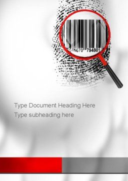 Digest Authentication Word Template, Cover Page, 10863, Technology, Science & Computers — PoweredTemplate.com