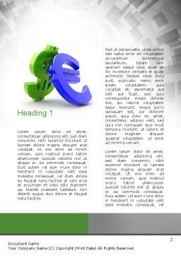 Currency War Word Template, First Inner Page, 10873, Financial/Accounting — PoweredTemplate.com
