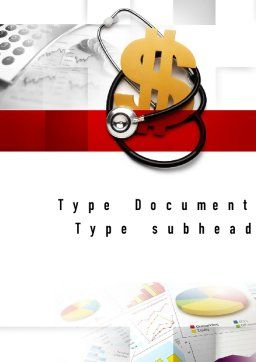 Medical Reform Word Template, Cover Page, 10882, Financial/Accounting — PoweredTemplate.com