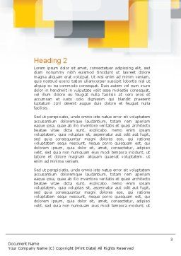 Crate Word Template, Second Inner Page, 10893, Construction — PoweredTemplate.com