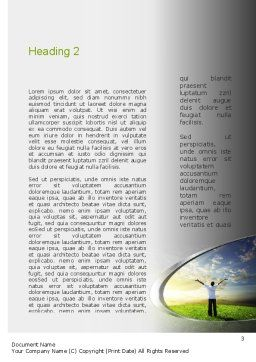 Fear to Fuel Word Template, Second Inner Page, 10897, Consulting — PoweredTemplate.com