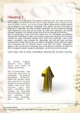 Motivation Word Template First Inner Page