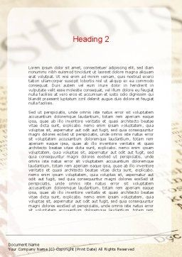 Motivation Word Template Second Inner Page
