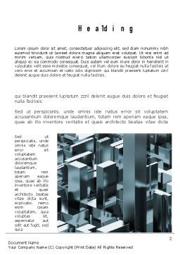 Skyscraper Abstract Concept Word Template, First Inner Page, 10922, Construction — PoweredTemplate.com