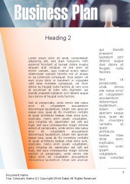 Plan and Launch Word Template, Second Inner Page, 10933, Business Concepts — PoweredTemplate.com