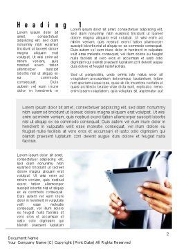 Business Information Word Template, First Inner Page, 10936, Business Concepts — PoweredTemplate.com