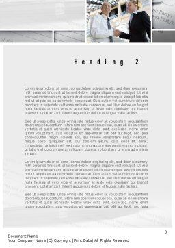 Business Information Word Template, Second Inner Page, 10936, Business Concepts — PoweredTemplate.com