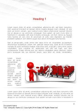 Conference Speaking Word Template First Inner Page