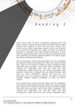 Idea Development Word Template, Second Inner Page, 10949, Business Concepts — PoweredTemplate.com