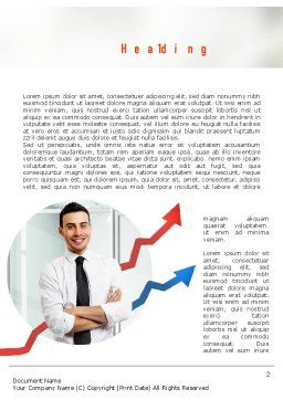 Effective Manager Word Template, First Inner Page, 10950, People — PoweredTemplate.com