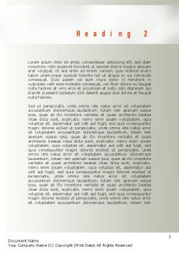 Effective Manager Word Template, Second Inner Page, 10950, People — PoweredTemplate.com