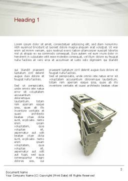 IT Investments Word Template First Inner Page