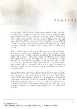 Venture Capital Word Template Second Inner Page