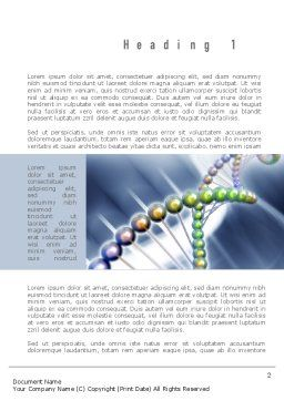 Human Genome Word Template First Inner Page