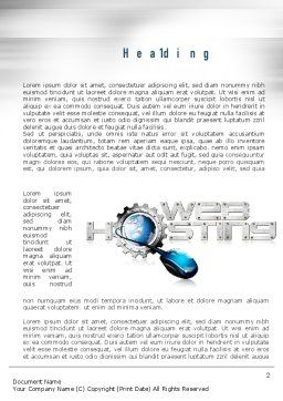 Web Hosting Theme Word Template, First Inner Page, 11022, Careers/Industry — PoweredTemplate.com