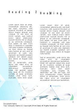 Logistics Solutions Word Template Second Inner Page
