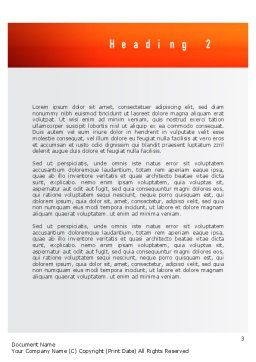 Public Relations Word Template Second Inner Page
