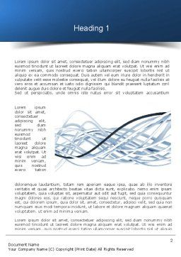 Fiber-Optical Cables Word Template First Inner Page