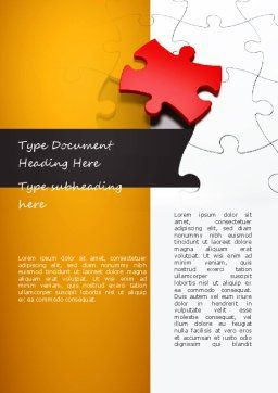 Talent Acquisition Word Template Cover Page
