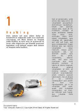 Reputation Management Word Template, First Inner Page, 11054, Telecommunication — PoweredTemplate.com