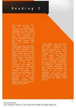 Reputation Management Word Template, Second Inner Page, 11054, Telecommunication — PoweredTemplate.com