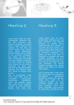 Dental Care Word Template, Second Inner Page, 11057, Medical — PoweredTemplate.com
