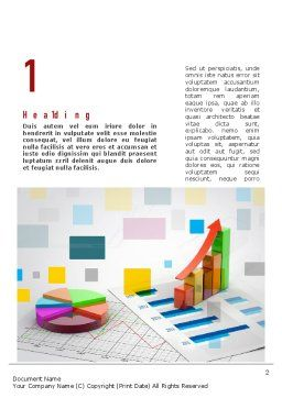 Data Visualization Word Template, First Inner Page, 11064, Consulting — PoweredTemplate.com